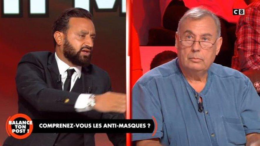 Cyril Hanouna vire un invité du plateau en plein direct (vidéo) — Balance ton post