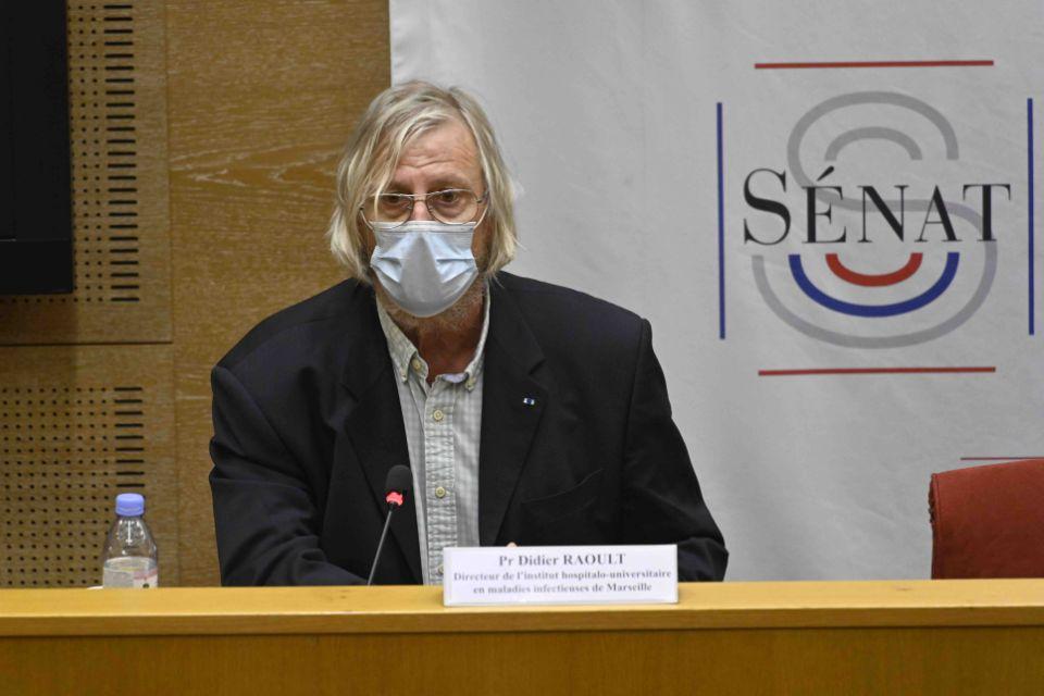 Didier Raoult attaqué par l'ordre des médecins s'estime victime d'un complot (Vidéo)