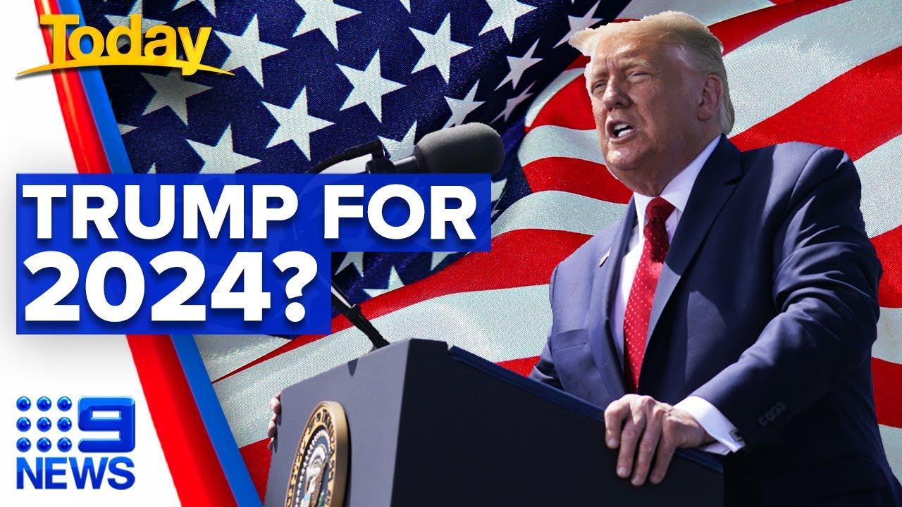 Comment Donald Trump entretient l'idée d'un retour — Etats-Unis